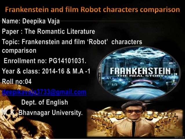 a short comparison of the characters frankenstein and faust