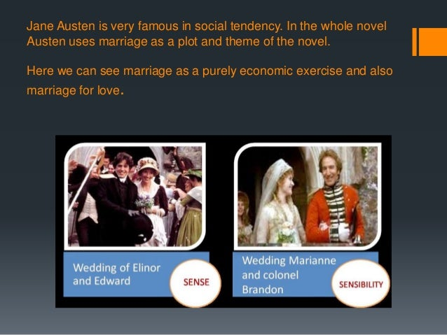 theme of love in sense and sensibility