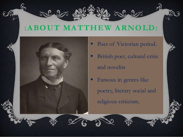matthew arnold culture and anarchy summary