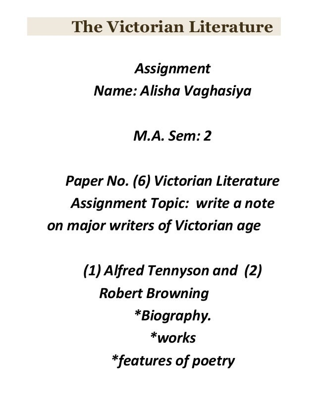Paper 6 Assignment