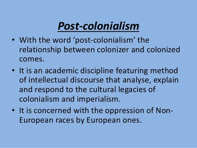 colonizer and colonized relationship help