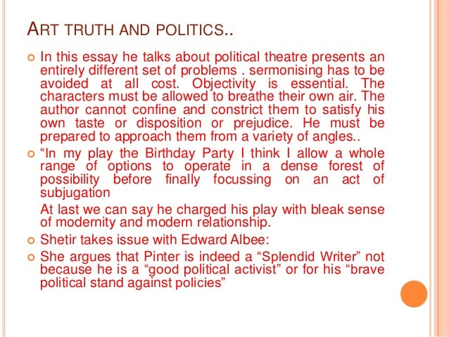 Political party essay