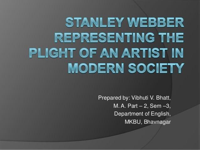 Prepared by: Vibhuti V. Bhatt, M. A. Part – 2, Sem –3, Department of English, MKBU, Bhavnagar