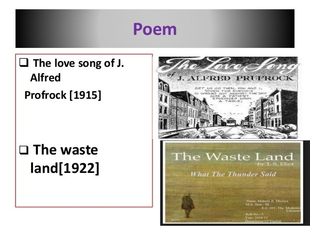 The Love Song of J. Alfred Prufrock Critical Essays