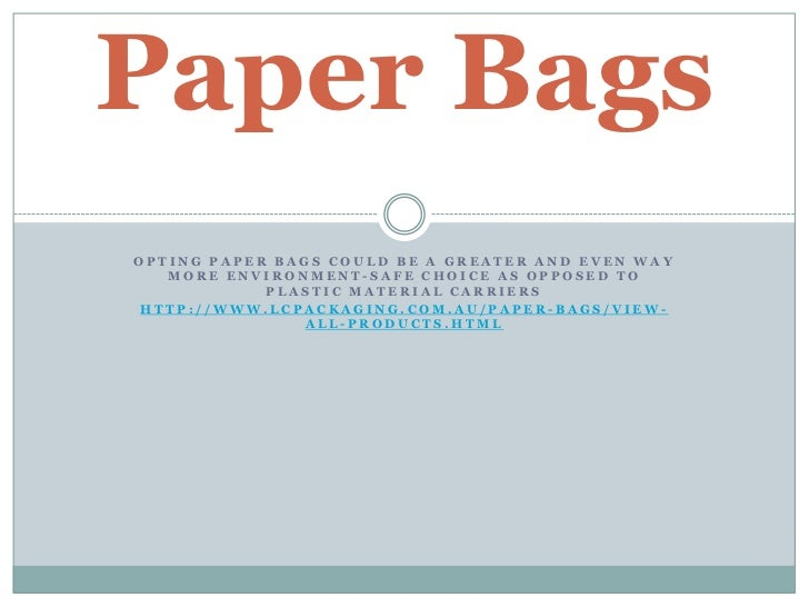 paper bags ppt 1213, Powerpoint Plastic Bag Presentation Template, Presentation templates