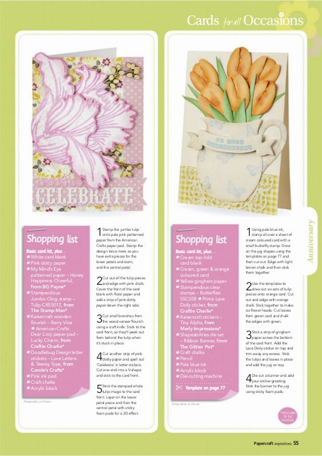 3D Easy Die Cut Card Toppers FLOWERS 5 Designs Glltter Hotfoil Finish Type 18