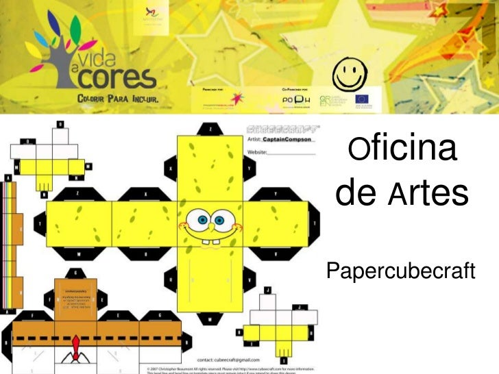 Oficina de Artes Papercubecraft