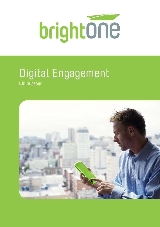 Digital Engagement White paper