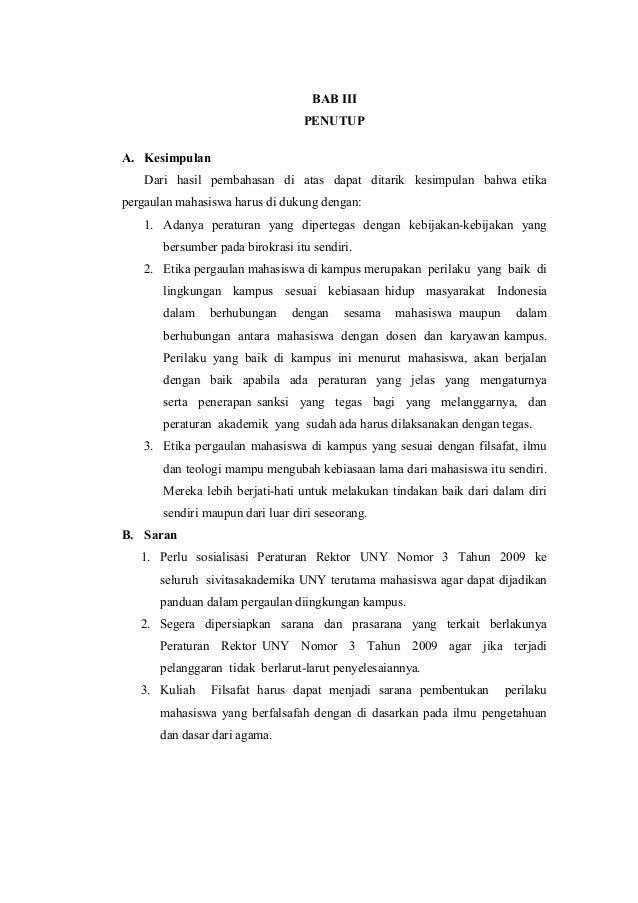 Paper Filsafat Ilmu Etika Pergaulan