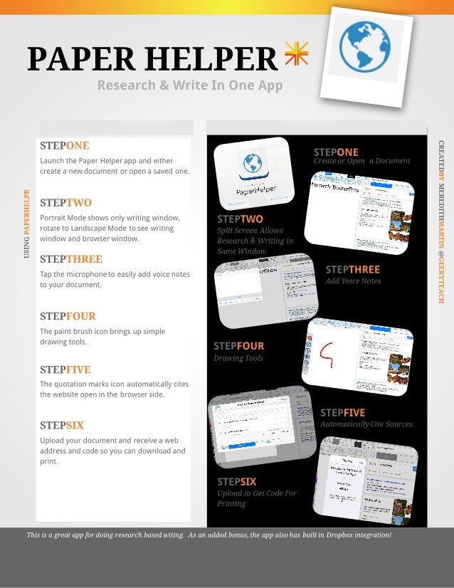 Paper Helper App Tutorial