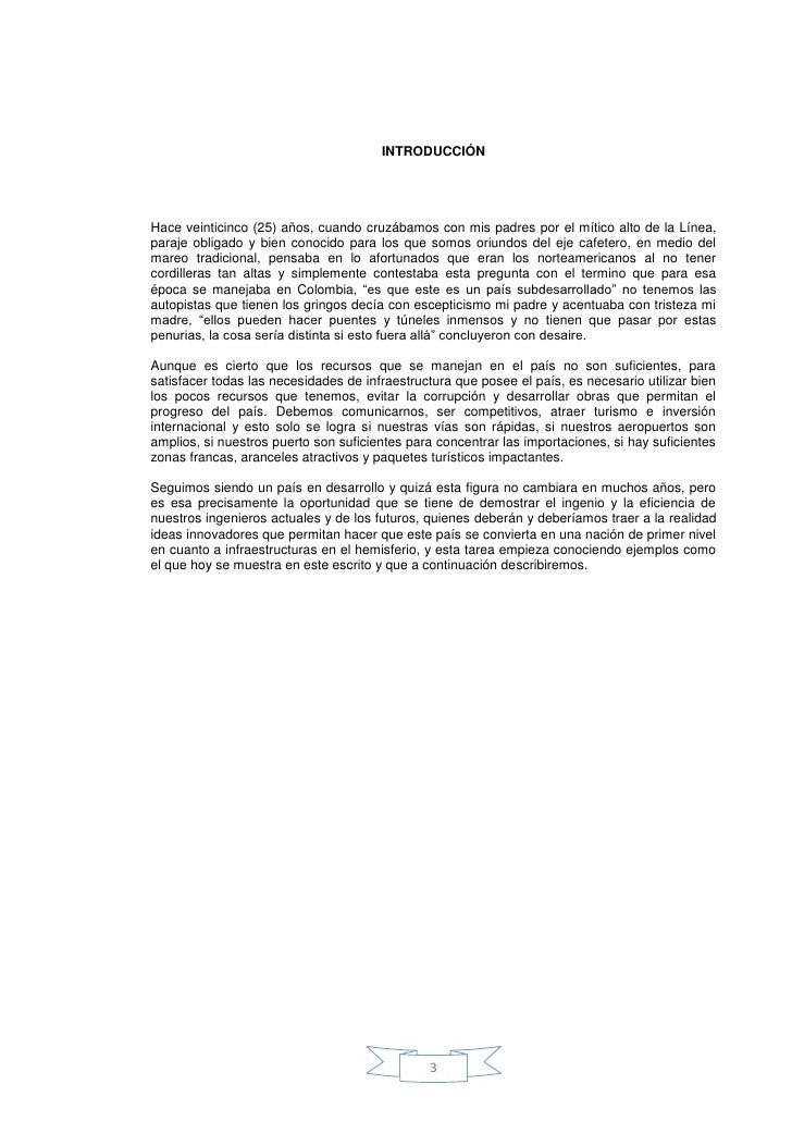 EL TUNEL DE LA LÍNEA (Colombia) Slide 3