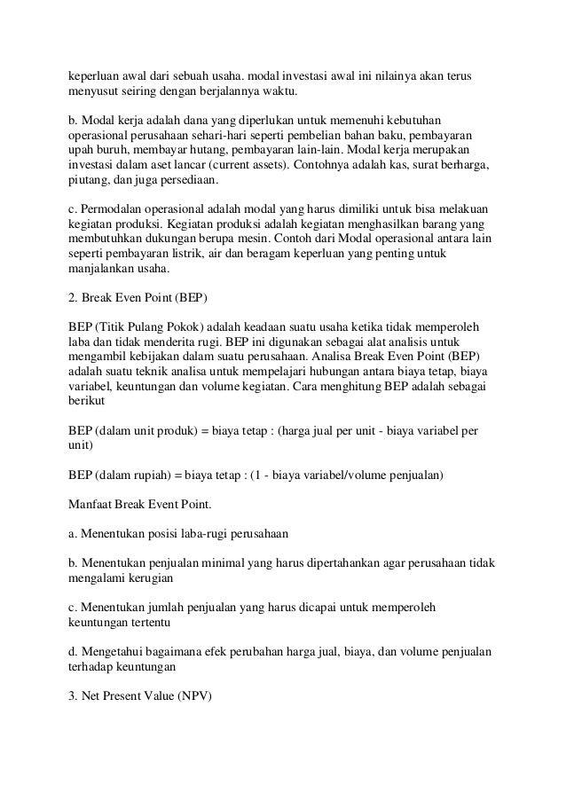 1 Wirausaha Rizka Aziz Prof Dr Ir Hapzi Ali Mm Cma Permodalan