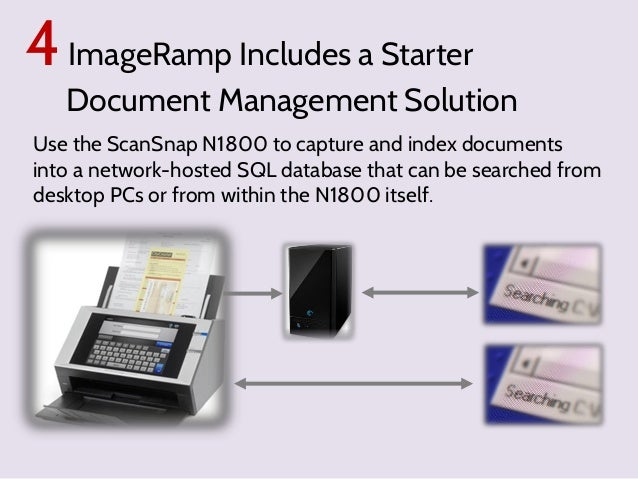 Scansnap ocr existing