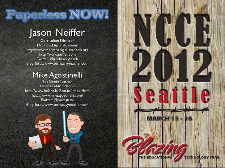 Jason Neiffer          Curriculum Director       Montana Digital Academyhttp://www.montanadigitalacademy.org         http:...