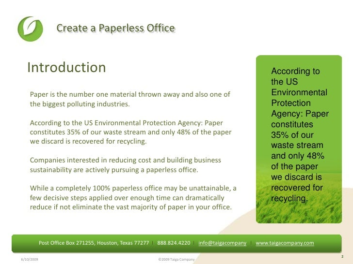 essay about paperless world Functioning or accomplished entirely by electronic means, without paper documents or the use of paper for record keeping: a paperless office, paperless billing.