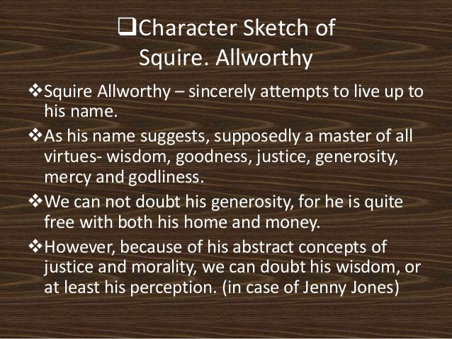 squire allworthy