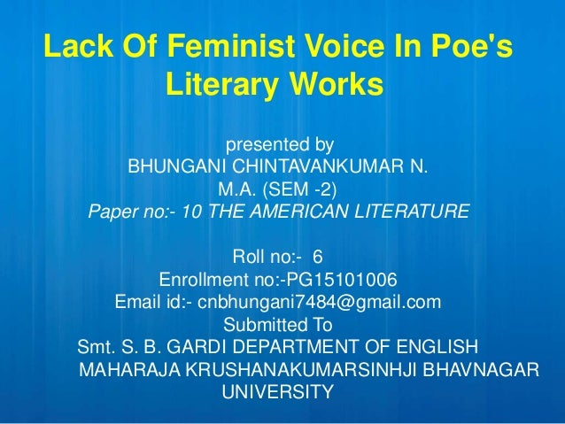 thesis feminism literature Sixteen powerful dissertation topics in english literature for undergraduate students is it really approaching dissertation time already are you beginning to panic because you want your thesis to be the greatest that any examiner in.
