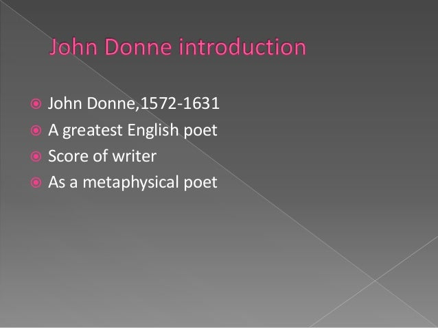 deconstructive concept of death john donnes poems The postmodern turn: irony and parody in 'a valediction forbidding mourning' gm javed arif assistant.