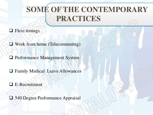 contemporary hr Keywords: hr strategies, line manager, employee performance  desire among  hr professionals in contemporary organizations that the hrm policies should.