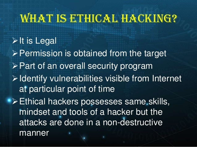 ethics of hacking essay