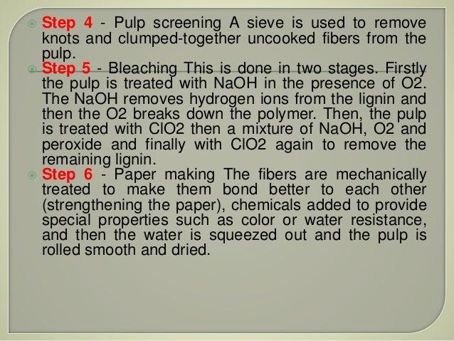 Paper production process
