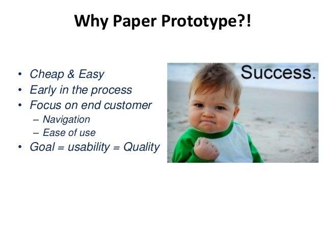 How to Paper Prototype?! Round 1: Make a prototype – 25 Minuten Round2: Test the prototype – 3 x5 Minuten Roles: • Tester ...