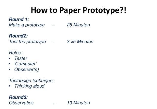 Let's prototype!