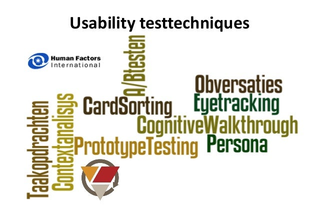 usability evaluation thesis Usability evaluation tasks susceptible to concurrent think-aloud protocol juliana anyango ogolla human-centered systems (hcs) department of computer and.