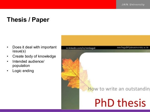 Phd thesis database law india