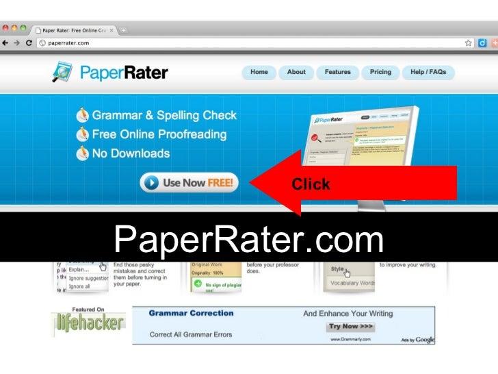 PaperRater.com Click