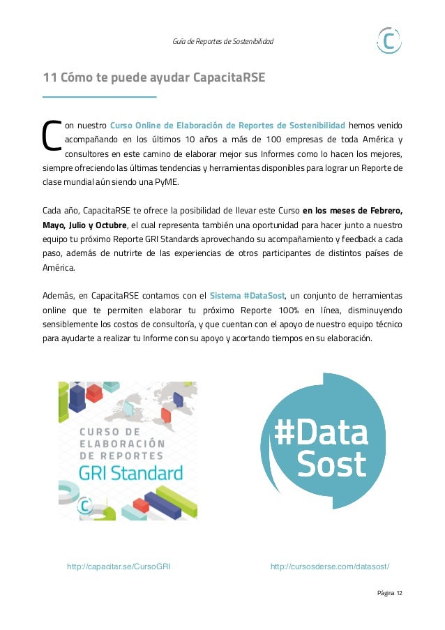 RSE - Guía Esencial de Reportes de Sostenibilidad