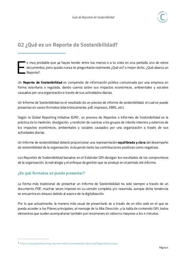 Guía de Reportes de Sostenibilidad   03 ¿Qué demandan los grupos de interés?   Desde los Inversionistas: Varias tendenci...