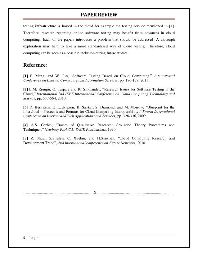 Research papers on software reliability