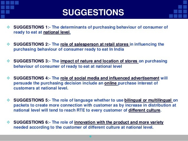 consumer behaviour in itc products Most every business wants to know how consumers tick in this lesson, you'll learn about consumer buying behavior, including the standard model.