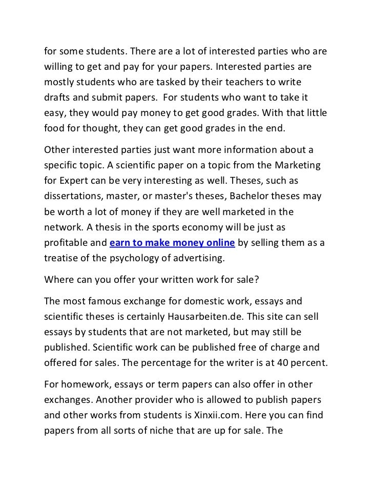 why not to buy term papers online