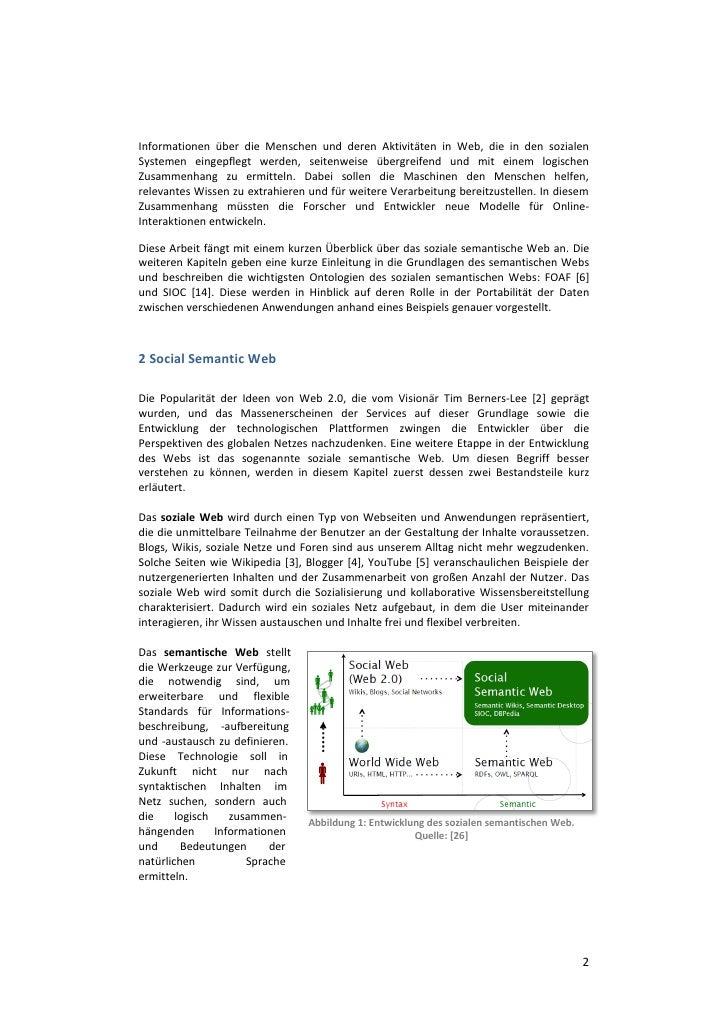 soziales semantisches web Slide 2