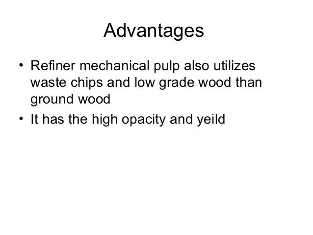 Chemical pulping • It is used to isolate fibers from wood compartment is to remove the lignin • Delignification is done by...
