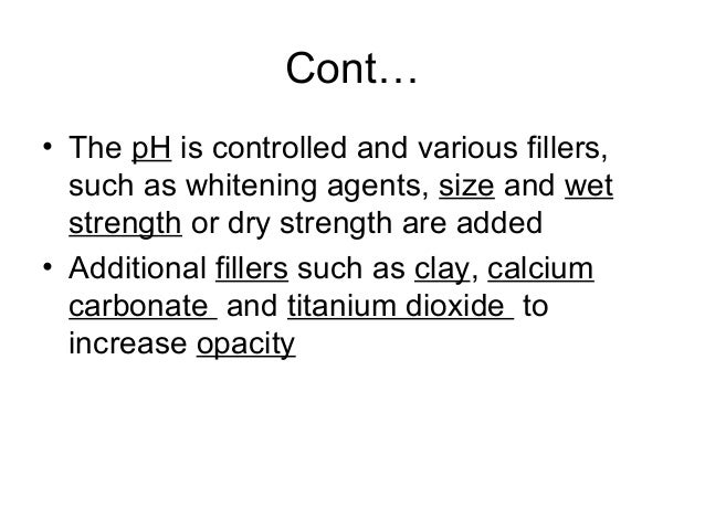 Fibers & non fibers • Fiber - Selected for properties & cost • Non-fibrous Additives - Selected to obtain properties not i...