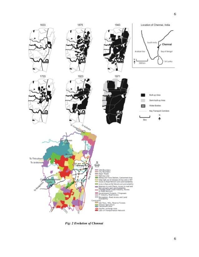 6 Fig 2 Evolution Of Chennai