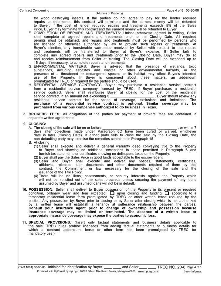 Tar Buyer Representation Agreement Agreement