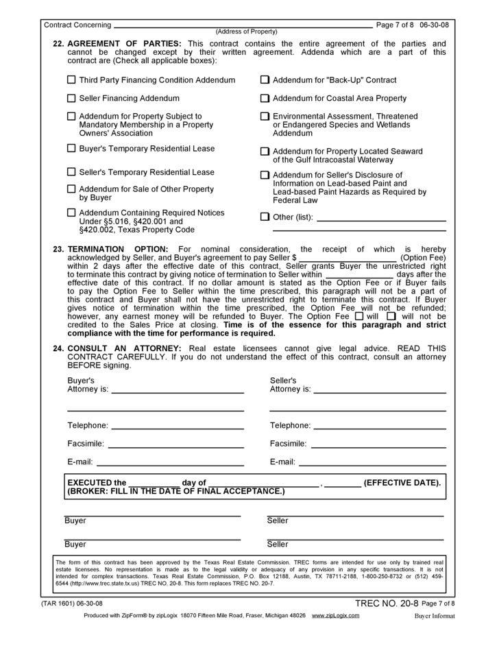 Paperwork For Buyers