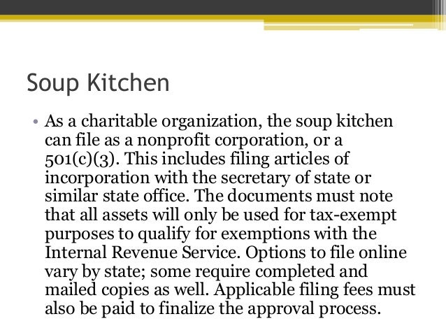 Soup Kitchen U2022 As A ...
