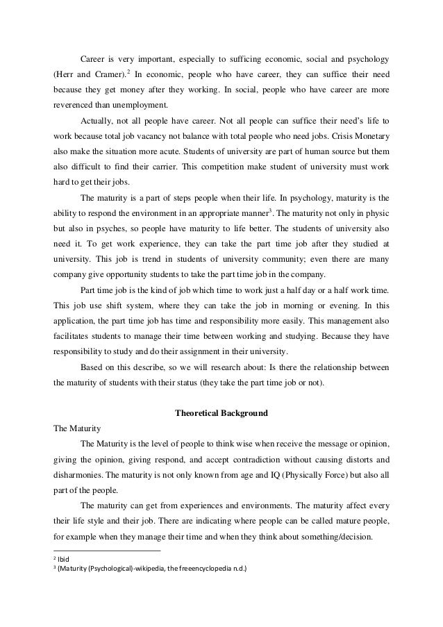 essay on maturity of a student Free essays and term papers essaysforstudentcom get access to 88,000+ essays and term papers join 188,000+ other students.