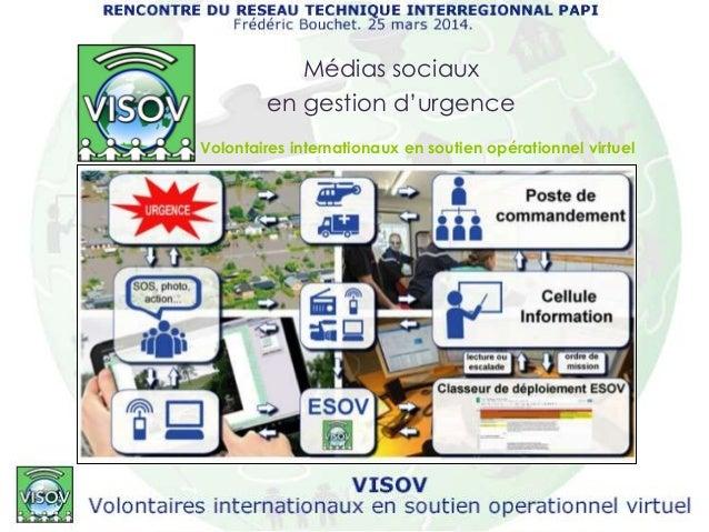 Volontaires internationaux en soutien opérationnel virtuel Médias sociaux en gestion d'urgence