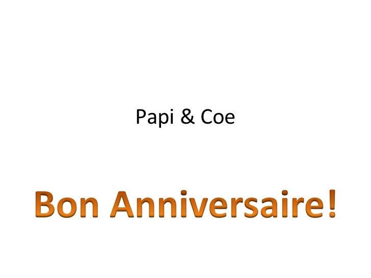 Papi & Coe