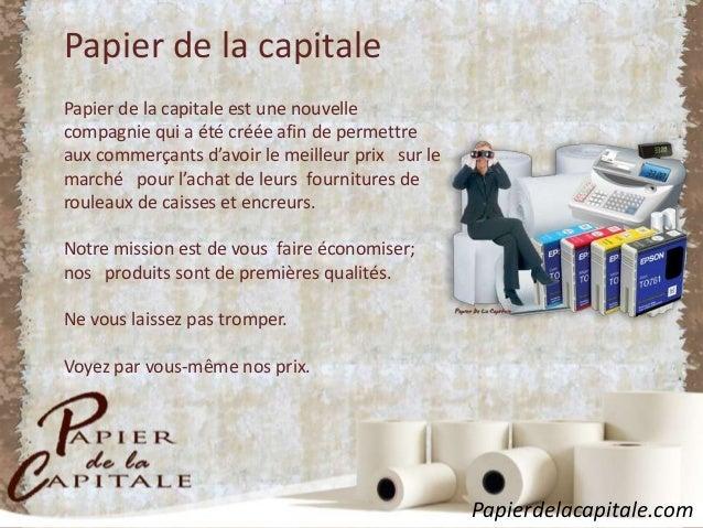 Papier de la Capitale Slide 2