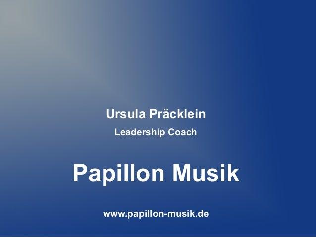 ISARCAMP: Papillon Musik / Ursula Präcklein - crowdfunding im musikbusiness