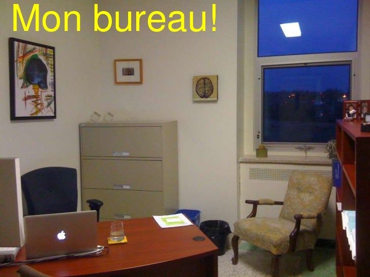 Mon bureau!