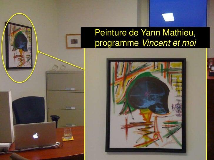 Peinture de Yann Mathieu,programme Vincent et moi