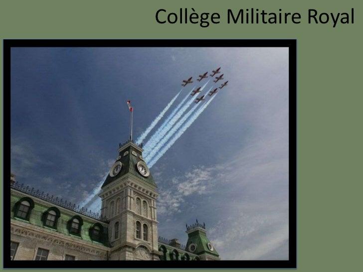 Collège Militaire Royal